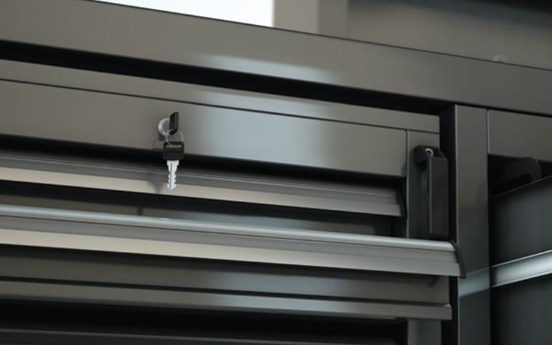 Werkstatt schubladenschrank oder Werkzeugschrank aus Metall ...