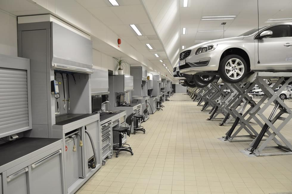 New Furnishings And Renovated Work Spaces For The Volvo