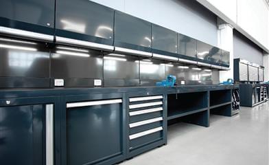 Modulo raccolta differenziata for Arredamento officina meccanica