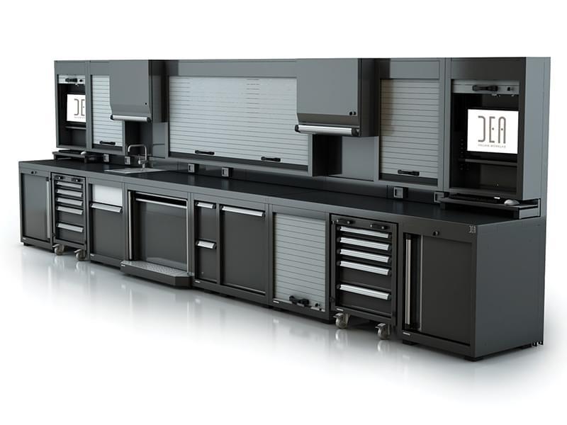 Arredamento modulare per officina qual la soluzione for Arredamento per officina