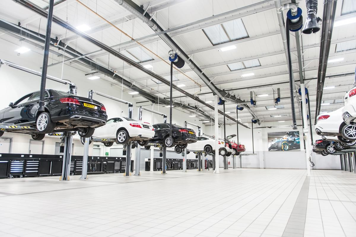 Le Officine Meccaniche Mercedes Scelgono Dea